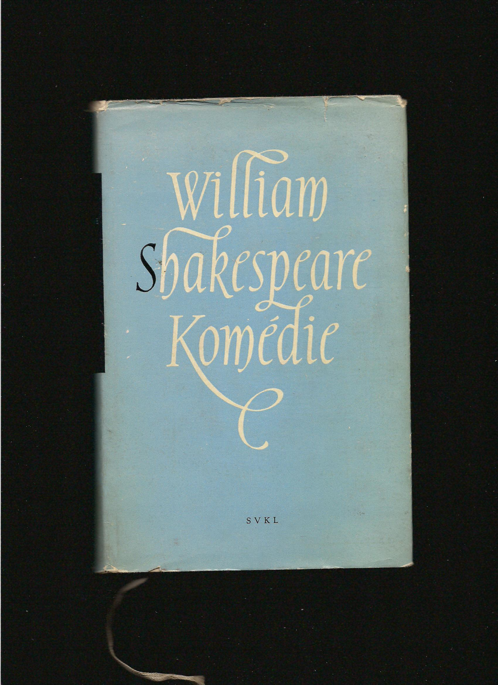William Shakespeare: Komédie